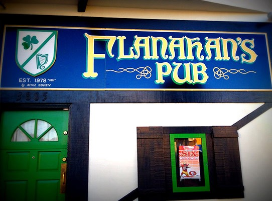 Neighborhood Pub in the Outer Sunset